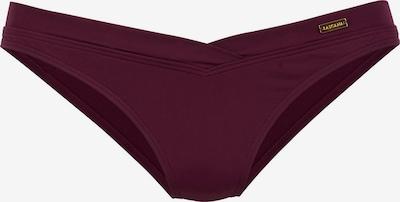 LASCANA Bikinihose 'Italy' in bordeaux, Produktansicht