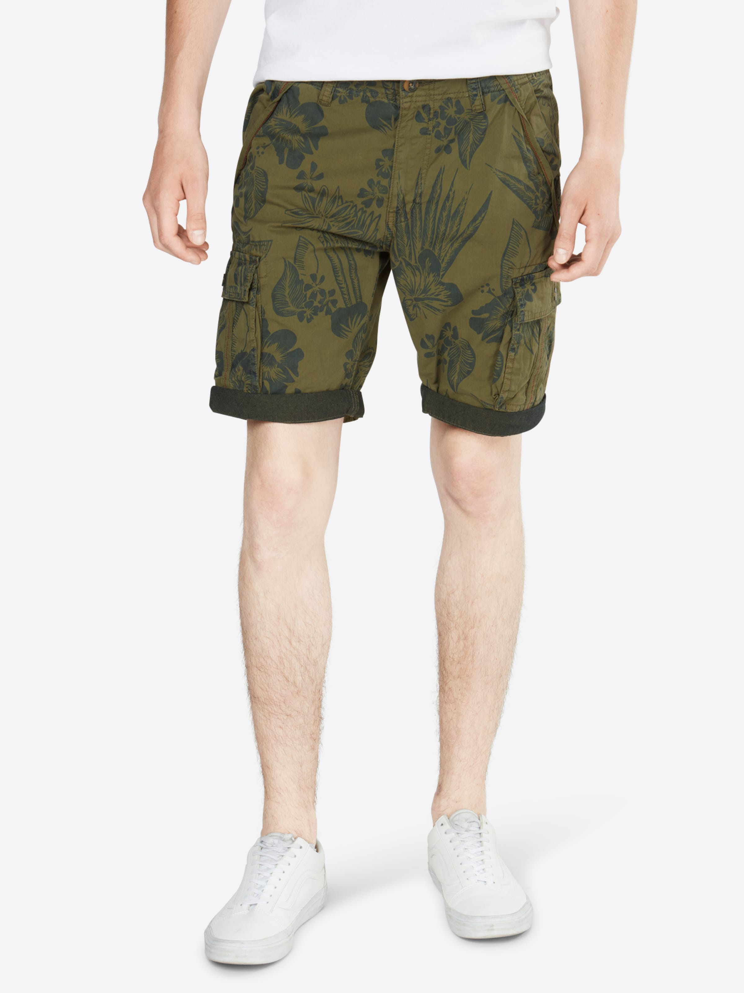 En Cargo 'prince Vert Albert' Foncé Jeans Indicode Pantalon eWYbE92HDI
