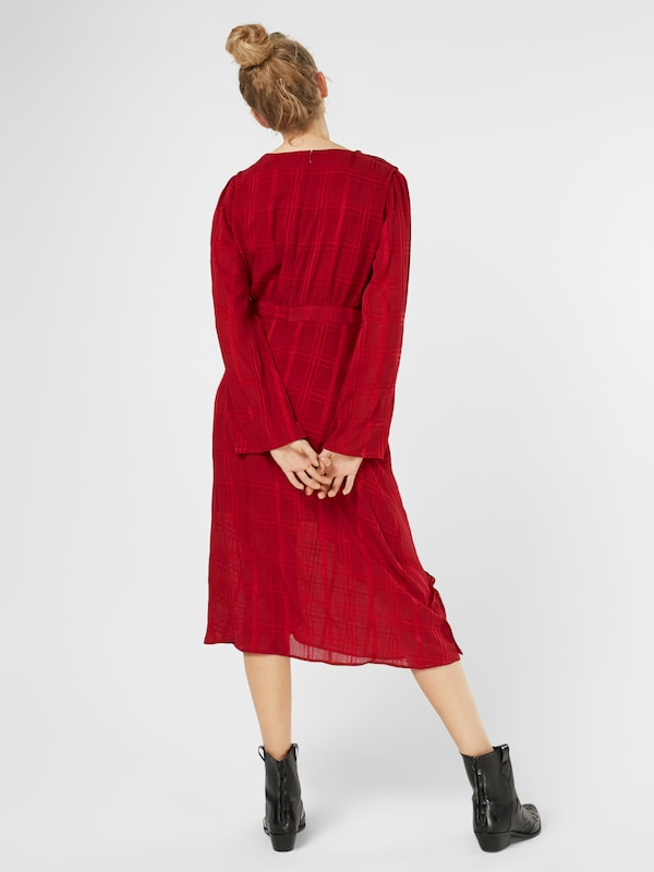 Lost Ink Kleid 'ASYMETRIC WRAP'