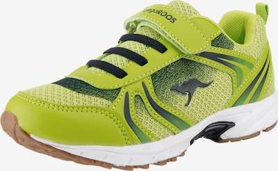 KangaROOS Sportschuh 'Niko EV' in grün / kiwi / hellgrün / dunkelgrün, Produktansicht