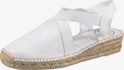 Toni Pons Sandale 'Verona' in weiß, Produktansicht