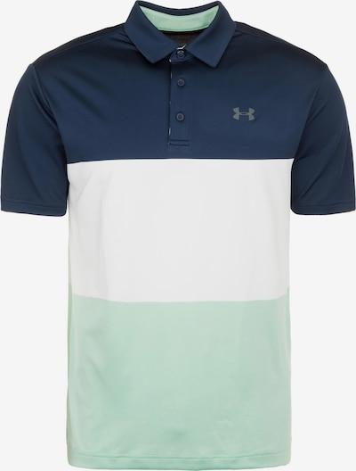 UNDER ARMOUR Shirt 'Playoff' in navy / mint / weiß, Produktansicht