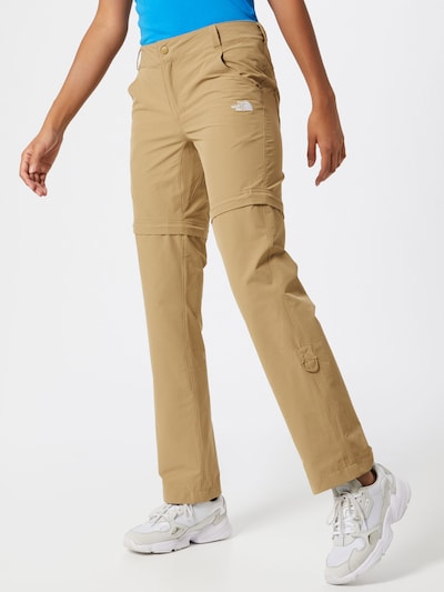 THE NORTH FACE Pantalon outdoor 'EXPLORATION' en sable: Vue de face