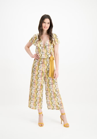 Nicowa Jumpsuit 'WIDES' in Yellow