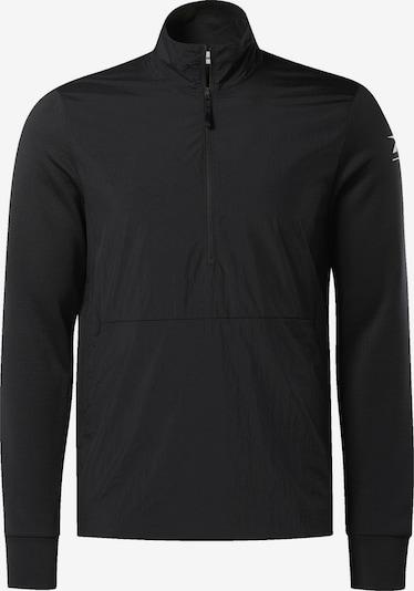 REEBOK Pullover in schwarz: Frontalansicht