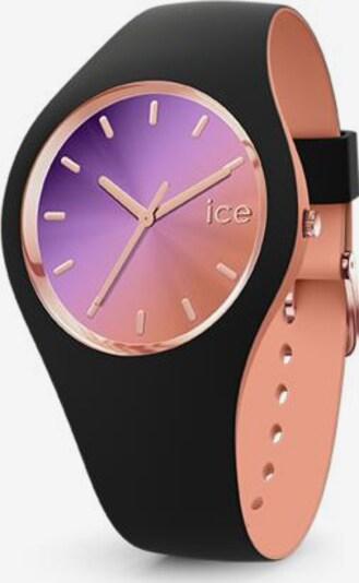 ICE WATCH Uhr in altrosa / schwarz, Produktansicht