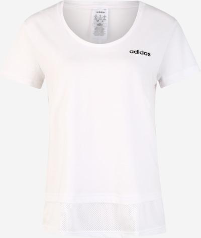 ADIDAS PERFORMANCE Shirt 'W E MM T' in schwarz / weiß, Produktansicht
