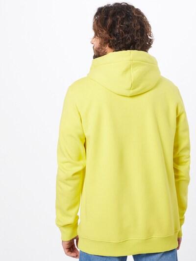 Megztinis be užsegimo 'Finnley' iš PARI , spalva - geltona / juoda: Vaizdas iš galinės pusės