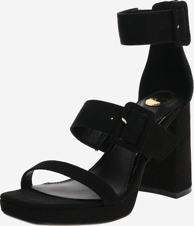 Sandale cu baretă 'JOLEENA' BUFFALO pe negru, Vizualizare produs