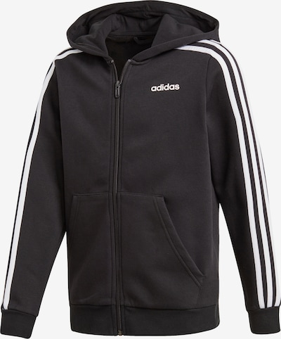 ADIDAS PERFORMANCE Športová mikina so zipsom - čierna / biela, Produkt