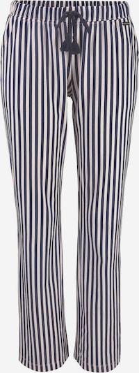 LASCANA Pyjamasbyxa i kräm / mörkblå, Produktvy