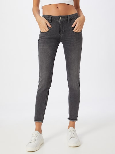 FREEMAN T. PORTER Jeans 'Alexa' in grau, Modelansicht