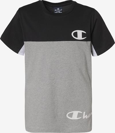 Champion Authentic Athletic Apparel Shirt in graumeliert / schwarz, Produktansicht