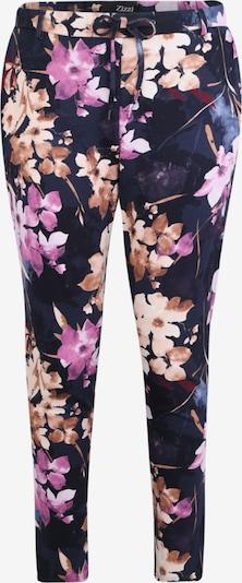 Chino stiliaus kelnės 'JMADDISON' iš Zizzi , spalva - nakties mėlyna / mišrios spalvos, Prekių apžvalga