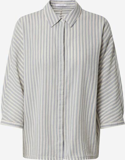 OPUS Bluse 'Frona stripe' in hellblau / weiß, Produktansicht