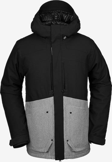 Volcom Jacke 'Scortch Ins' in graumeliert / schwarz, Produktansicht