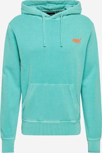 Superdry Sweatshirt in de kleur Turquoise, Productweergave