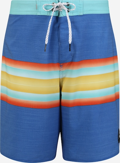 QUIKSILVER Boardshorts 'Highline Six Channel 19' in azur / mischfarben, Produktansicht