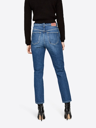 Pepe Jeans Jean 'BETTY' en bleu denim: Vue de dos