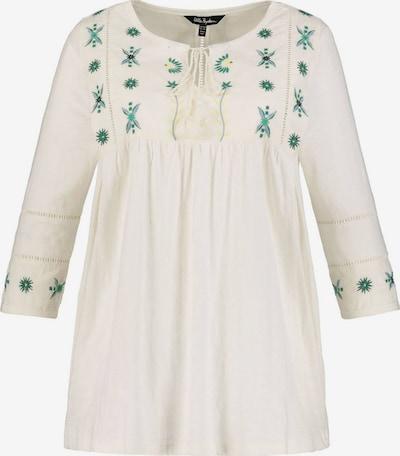 Ulla Popken Tunika - zelená / šedobiela, Produkt