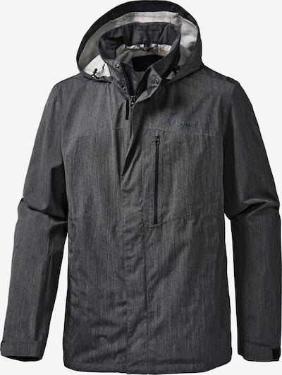 Schöffel Outdoorjacke 'Channing' in schwarz, Produktansicht