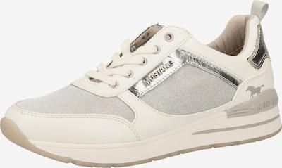 MUSTANG Sportieve veterschoen in de kleur Wit, Productweergave