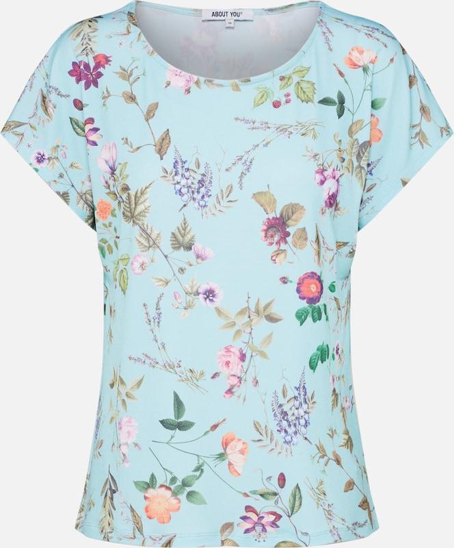 En T Turquoise shirt T 'linda' shirt 'linda' QBoCxhsrdt
