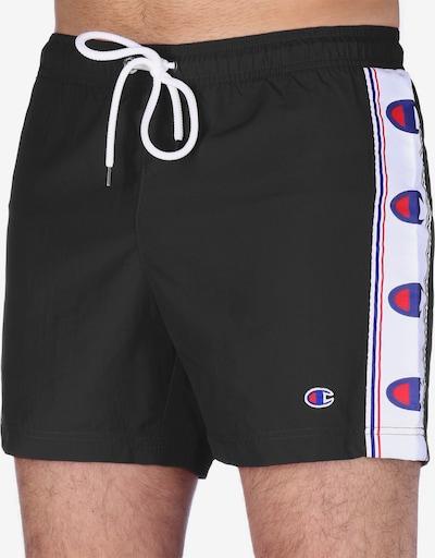 Champion Authentic Athletic Apparel Boardshorts ' Sportswear ' en noir, Vue avec produit