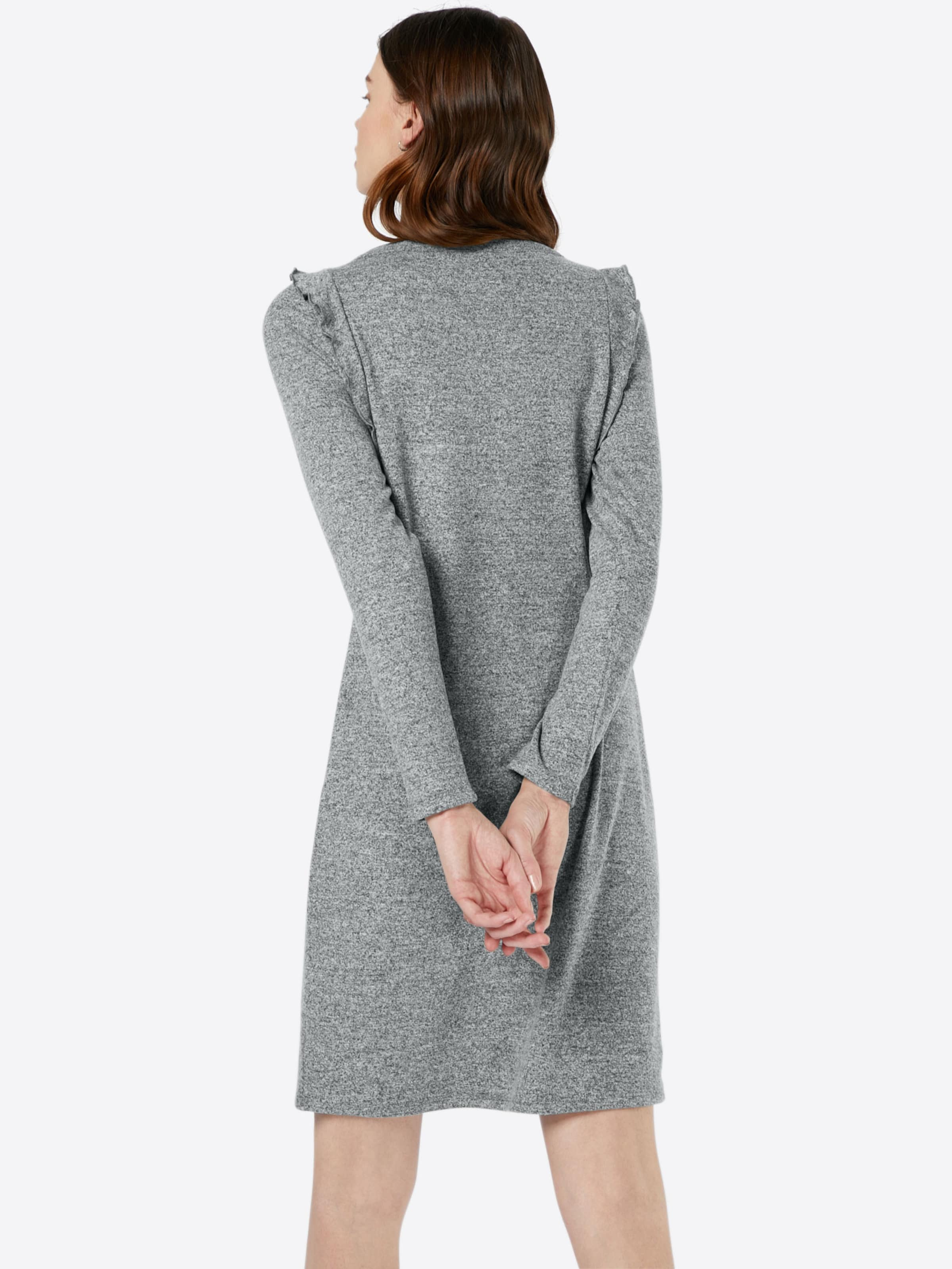 In Out Comma Kleid Cut Graumeliert Mit kiXuOZTwP