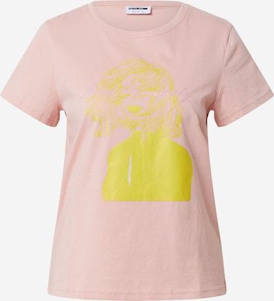 Noisy may Shirt 'NMNATE ANN S/S TOP BG' in pink / silber, Produktansicht