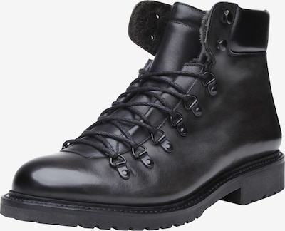 SHOEPASSION Veterboots 'No. 689' in de kleur Zwart, Productweergave