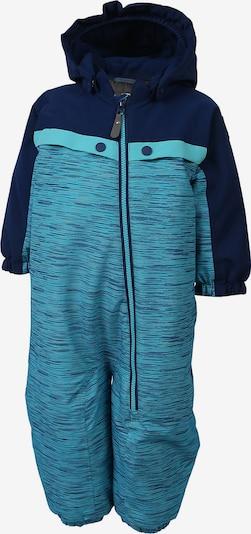 COLOR KIDS Schneeanzug 'Dolpa' in blau / hellblau, Produktansicht