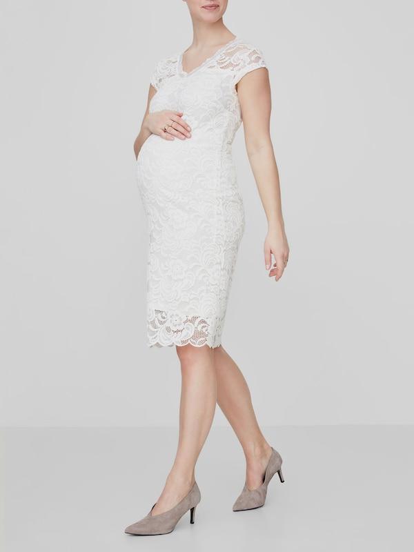 MAMALICIOUS Umstandskleid in weiß  Mode neue neue neue Kleidung 1789b9