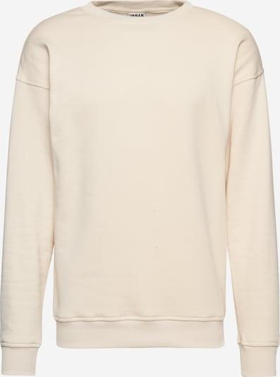 Urban Classics Sweat-shirt en crème, Vue avec produit