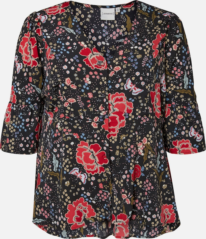 Sleeved Blouse With 3/4 Junarose