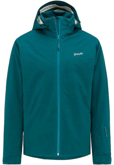 PYUA Alpin-Skijacke 'Void' in blau / petrol, Produktansicht