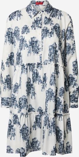 HUGO Blousejurk 'Klevia' in de kleur Donkerblauw / Wit, Productweergave