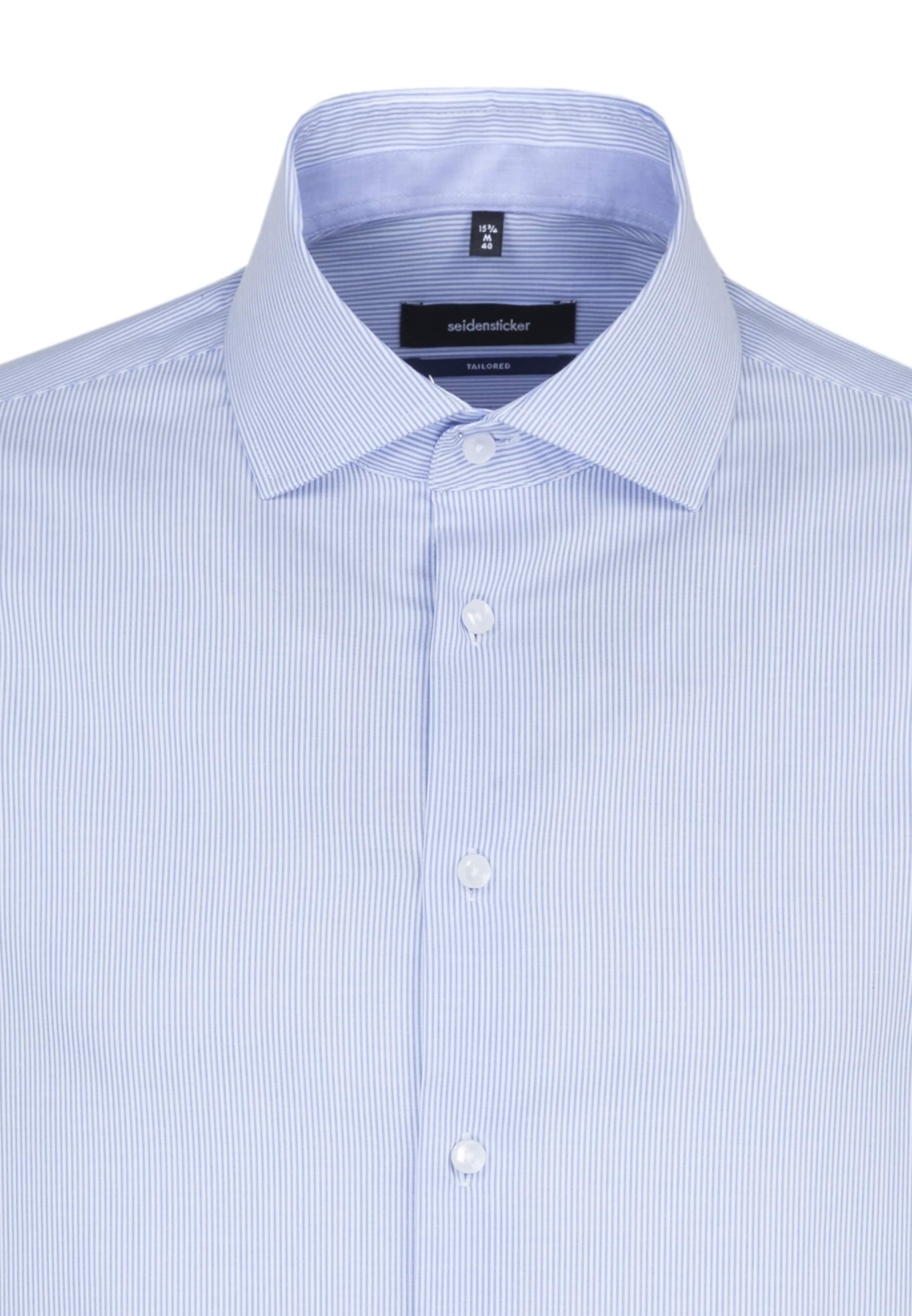 HellblauWeiß HellblauWeiß In Hemd Seidensticker Hemd Hemd Seidensticker Seidensticker In Hemd In Seidensticker In HellblauWeiß l5uTc3FK1J