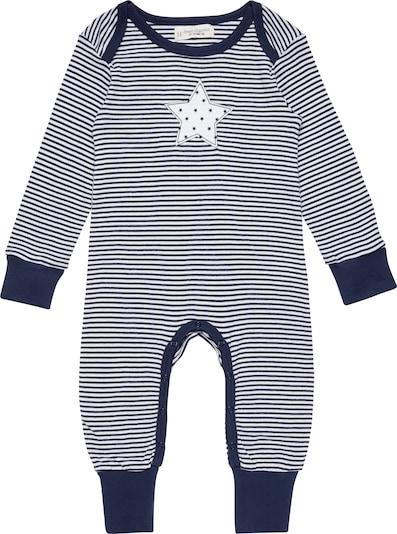 Sense Organics Rompertje/body 'Wayan' in de kleur Navy / Wit, Productweergave