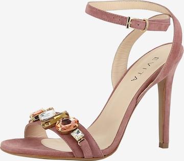 EVITA Sandalette 'Eva' in Pink
