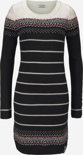 KangaROOS Strickkleid in schwarz, Produktansicht
