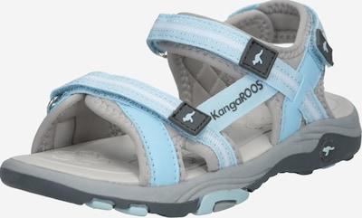 KangaROOS Sandale 'K-Leni' in hellblau / grau, Produktansicht