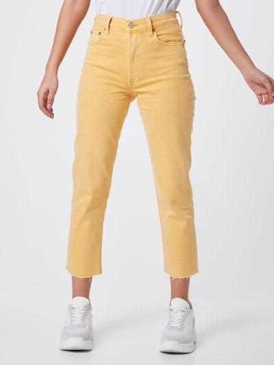 GAP Jeans 'CHEEKY' in gelb, Modelansicht