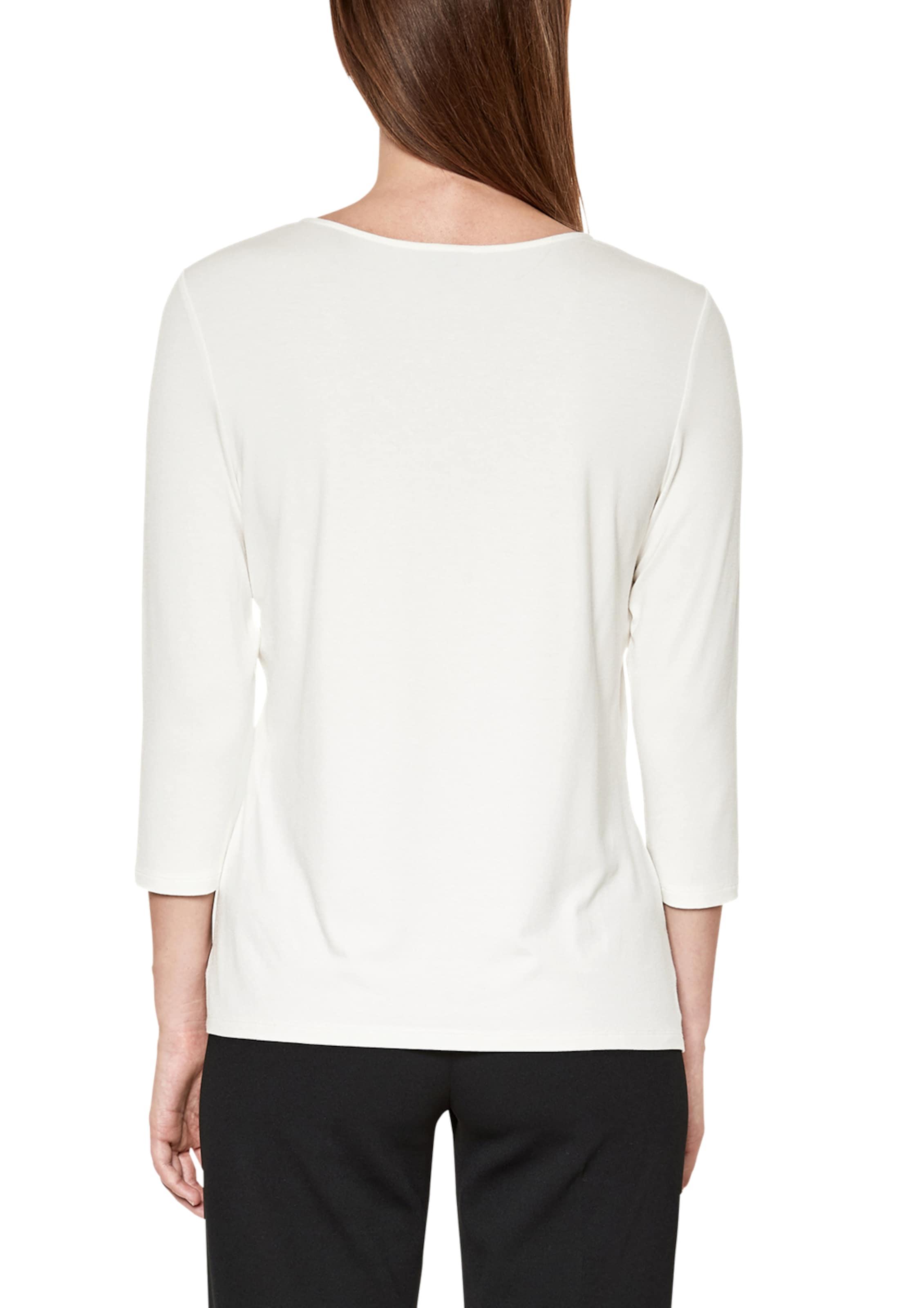 oliver S Label Weiß In Black Blusenshirt g7yv6Ybf