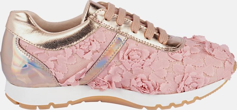 Heine Sneaker With Flower-application