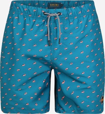 Shiwi Shorts de bain 'Shrimp' en bleu, Vue avec produit