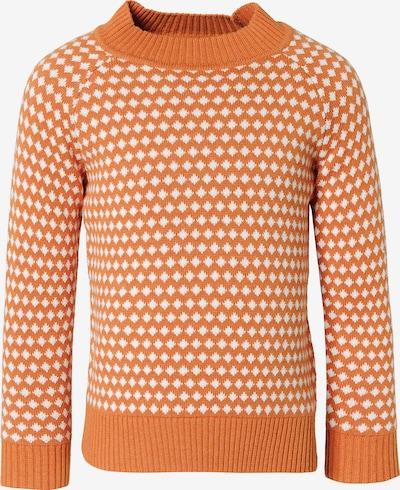 Sense Organics Pullover 'Kuruk' in orange / weiß, Produktansicht
