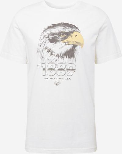 Lee Shirt 'BIKER TEE' in mischfarben / weiß, Produktansicht