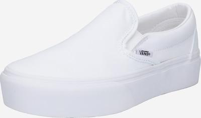 Teniși 'Classic Slip-On Platform' VANS pe alb, Vizualizare produs