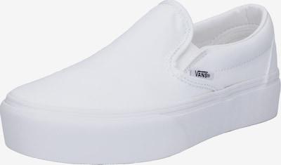 VANS Zapatillas sin cordones en blanco, Vista del producto